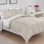 Boyd Vertical Stripe Comforter Bed Set