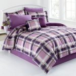 Van Plaid Bed Set for Men