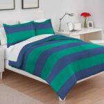 Ludis Viridi Reversible Comforter Bed Set – bedding for men