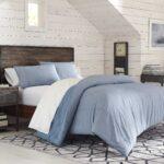 Plain Comforter Bed Set