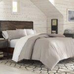 Plain Comforter Bed Set – bedding for men – brown